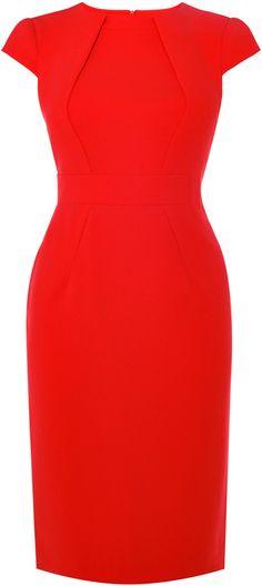 Red Pencil Dress Karen Millen