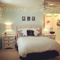 Fun Ways To Decorate With Hang Lights In The Bedroom