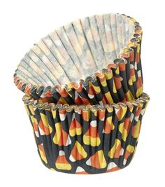 Halloween Mini Baking Cup Candy CornHalloween Mini Baking Cup Candy Corn,
