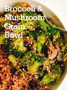 Brown Rice And Quinoa Recipe, Quinoa Fried Rice, Quinoa Broccoli, Fried Broccoli, Broccoli Recipes, Vegetable Recipes, Healthy Rice Recipes, Rice Recipes For Dinner, Healthy Foods To Eat