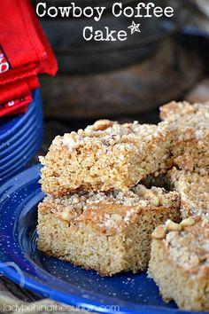 Cowboy Coffee Cake - Picnic Recipes - Dessert Recipes