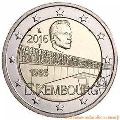 Luxembourg 2016 - 2 euro commémorative Pont Grande Duchesse