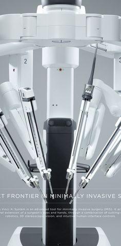 Medical Design, Healthcare Design, Da Vinci Surgical System, Intuitive Surgical, Medical Health Care, Graduation Project, Sonos, Medical Equipment, Design Case