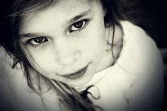 little girl pose - I love close ups!