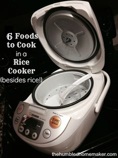 6 Foods to Cook in a Rice Cooker Besides Rice - The Humbled Homemaker