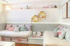 decoração moderna quarto de criança