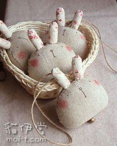 I don't know about you, but I love sewing for Easter. Here's not one bunny sewing pattern, Softies, Diy Ostern, Sewing Projects For Beginners, Cute Bunny, Cutest Bunnies, Bunny Bunny, Spring Crafts, Diy Toys, Handmade Toys