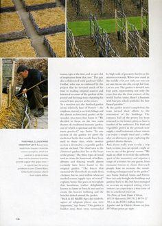 Prieuré d'Orsan - revue de presse - Homes & Gardens
