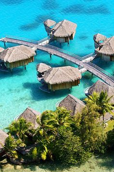 'Nuff said. Sofitel Bora Bora Private Island (Bora Bora, French Polynesia) - Jetsetter