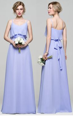 Lavender bridesmaid dress.  #JJsHouse #JJsHouseBridesmaidDress