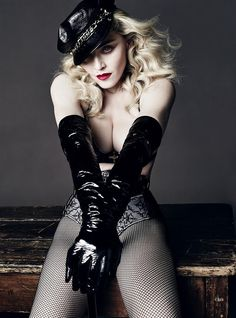 Madonna Nipple for LUomo Vogue