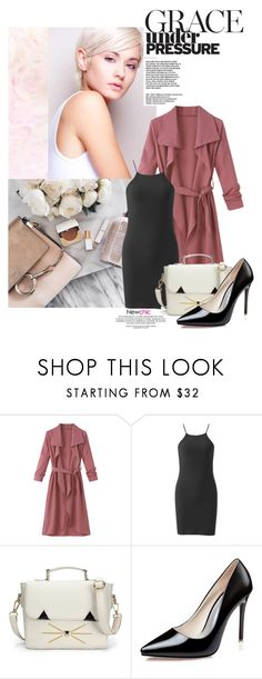 """Class of her own"" by eclectic-chic ❤ liked on Polyvore featuring slipdress, newchic and DressWithCardigan"