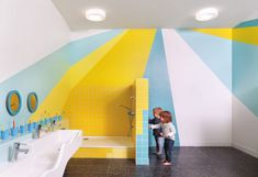 Baukind have designed a new daycare filled with fun creative touches | CONTEMPORIST