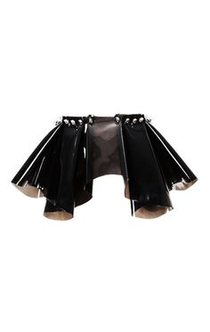 Structured Spiked Peplum Bel... from thecultlabel.com on Wanelo