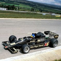F1 1978 South Africa Grand Prix held at Kyalami circuit, Lotus 78 Ford Cosworth V8 from Ronnie Peterson, winner of the race.
