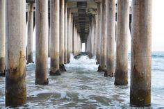 Huntington Beach pier | girls' trip to California | Hey, Hollywood blog