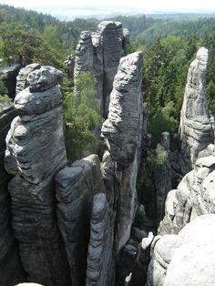 Prachov Rock Town