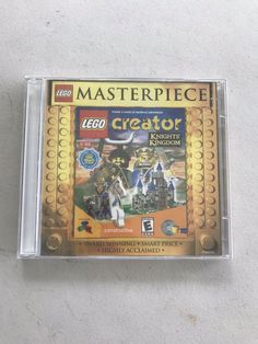 Lego Masterpiece Creator PC Game- Sealed- 2001 663338065839 | eBay Video Game Creator, Lego Creator, The Creator, Harry Potter Pc, Lego Racers, Vintage Lego, Pc Game, Gaming Computer, Knight
