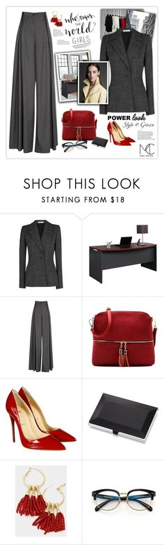 """""""My Power Look"""" by mcheffer ❤ liked on Polyvore featuring INC International Concepts, Barbara Casasola, Jonathan Simkhai, Christian Louboutin and MyPowerLook"""