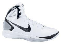 best service 60ca9 ff9f4 Nike Hyperdunk 2010 Womens TB White Black Metallic Silver Black · Basketball  ShoesCleatsMetallicBasketball ...