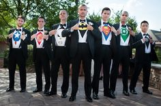 Haha. This is perfect for groomsmen pictures :)