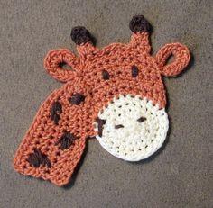 Freddie Giraffe, a super cute applique pattern from The Perfect Knot