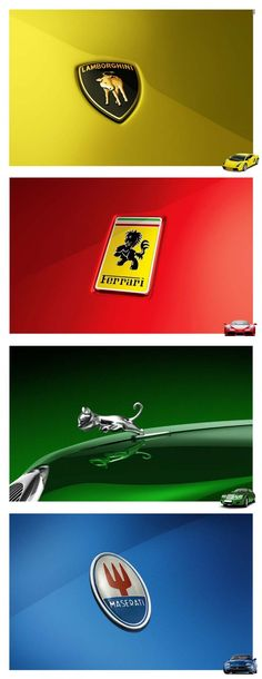 Baby Luxury Car Logos
