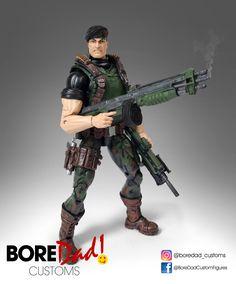 Custom Action Figure Marvel Legends GI Joe Flint
