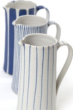 sue binns ceramics http://www.suebinnspottery.co.uk/... Got given one just the rear jug for Xmas. Luff it.