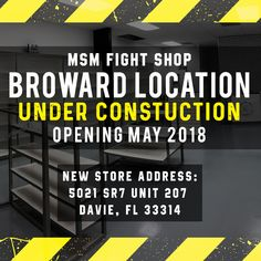 MSM Fight Shop Broward location (Fort Lauderdale location) 5021 SR 7 Unit 207 Davie, FL 33314 MMA Store | Fight Shop | Boxing Store #boxingstore #fightshop #broward #miami #mmastore