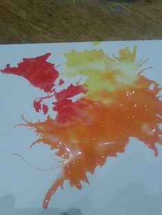 Paint blowing pictures for Pentecost. I really like this site.