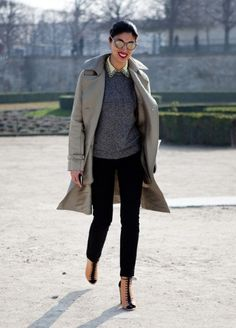 Caroline Issa of 'Tank' magazine is sporting one of her signature Practical Yet Stylish looks. #Musestyle