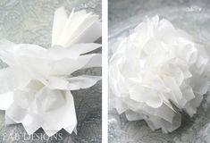 Paper flower tutorial layout 3