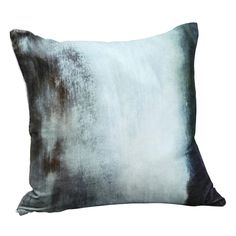 """MOES - Murky Water Velvet Cushion with Feather Insert - 25"""" Sq - $81.42"""