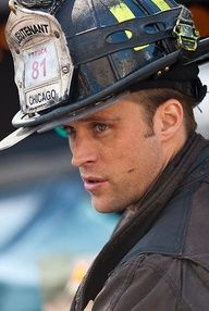 """My favorite show! """"Chicago Fire"""" ~ LOVE IT! And Casey ( Jesse Spencer ) is the calendar boy on my birthday month! Chicago Fire Casey, Chicago Med, Pretty Men, Gorgeous Men, Chigago Fire, Chicago Justice, Jesse Spencer, Firefighter Pictures, Chicago Shows"""