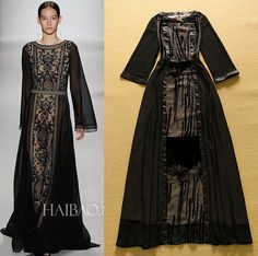 long sleeved maxi dress casual | Gommap Blog