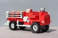 Awesome lego fire truck #awesome #lego #fire #engine