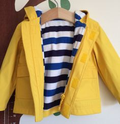Pre-loved item of the week: Yellow rain mac | Our Blog