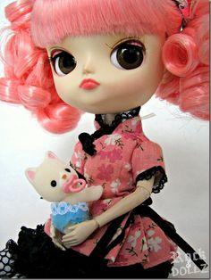Chibiusa (Dal Magical Pink Chan) and Baby Silk Cat