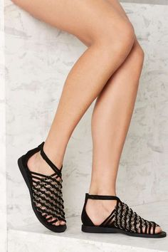 7c8911e3e5f5 Jeffrey Campbell Pulau Suede Sandal - Shoes Suede Leather Shoes, Suede  Sandals, Flat Sandals