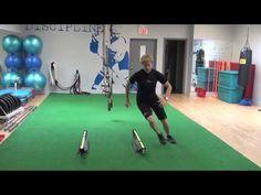 Hockey Goalie Agility Training - Hurdles - YouTube