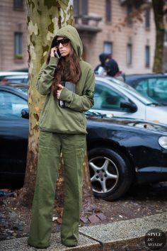 Erika Boldrin Street Style Street Fashion Streetsnaps by STYLEDUMONDE Street Style Fashion Photography