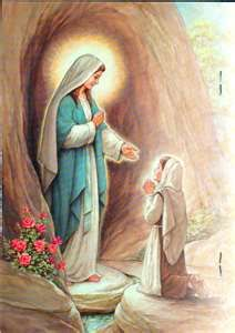 Our Lady of Lourdes - Mary Appearing to Saint Bernadette Soubirous