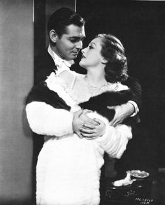 Clark Gable & Joan Crawford from Possessed (1931) by George Hurrell