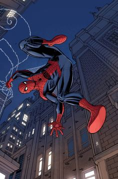 Amazing Spider-Man Variant Cover by Nick Bradshaw Marvel Comics, Marvel Vs, Marvel Heroes, Amazing Spiderman, Spiderman Art, Marvel Comic Character, Marvel Characters, Midtown Comics, Spectacular Spider Man