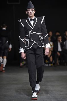 Thom Browne Men's RTW Spring 2015