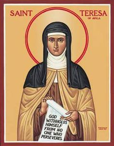 It's a great day to be a Carmelite! Happy 500th birthday, St Teresa of Avila!