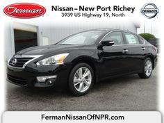... Ferman Nissan Of New Port Richey. See More. 2014 Nissan Altima 2.5 SV    Super Black Http://www.fermannissanofnewportrichey.