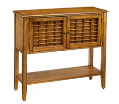 Hillsdale Furniture Bayberry Sideboard with 2 Doors, Bottom Shelf, Bamboo Effect and Clean Lines in Oak Cabinet Furniture, Dining Room Furniture, Sideboard Table, Hillsdale Furniture, Room Accessories, Wood Veneer, Bars For Home, Home Decor, Clean Lines