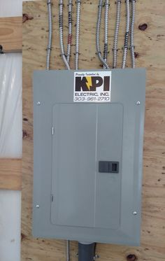 #constructionsignage #safetysignage #streetsigns #parkingsigns #SignaramaColorado #Signs #colorado Electrical box decals for KPI Electric INC